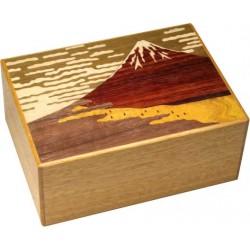 Boite 10 mouvements / 5 suns Aka Fuji