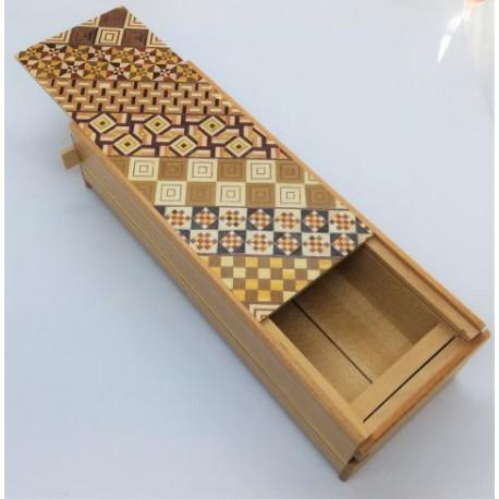 Boite 14 mouvements / 8 suns Yosegi Kuzushi long box