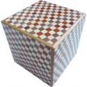 Boite 14 mouvements / 3 suns Cube damier
